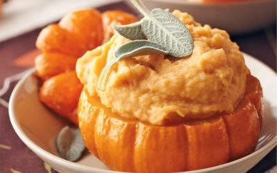 Halloween Special: Healthy recipes #3 Pumpkin Mashed Potatoes