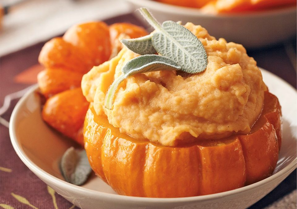Halloween Special: Healthy recipes #3 Pumpkin Mashed Potatoes