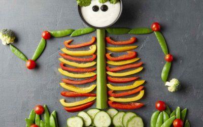 Halloween Special: Healthy recipes #2 – Halloween Veggie Tray